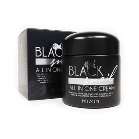Крем Восстанавливающий С Улиточным Муцином Mizon Black Snail All In One Cream 75ml