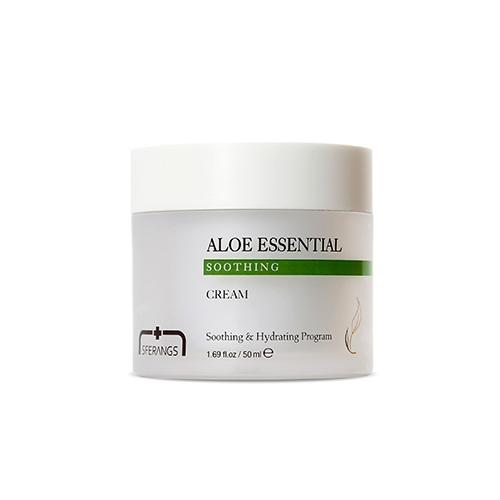 Успокаивающий крем с алоэ вера для лица Sferangs Aloe Essential Soothing Cream 50ml 2 - Фото 2