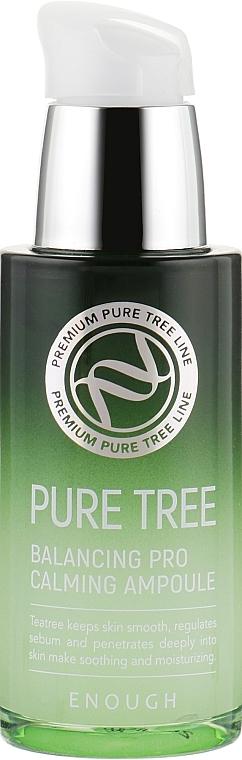Успокаивающая сыворотка с экстрактом чайного дерева Enough Pure Tree Balancing Pro Calming Ampoule 30ml 2 - Фото 2