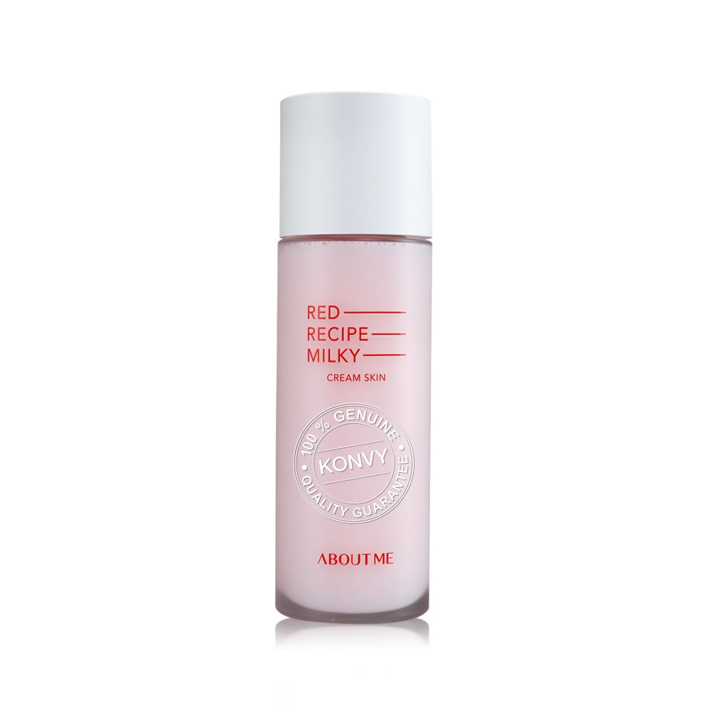 Увлажняющее очищающее молочко-тонер About me RED RECIPE CLEANSING MILKY Cream Skin 2 - Фото 2