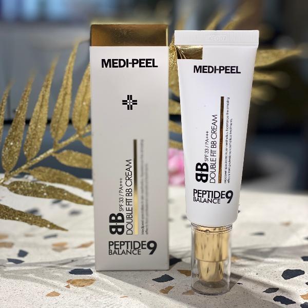 BB-крем для лица омолаживающий с пептидным комплексом MEDI-PEEL Peptide9 Double Fit BB Cream SPF33+ PA+++ 50ml