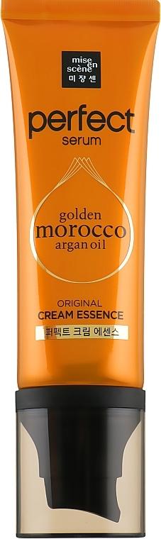 Крем-эссенция с комплексом масел для сильно поврежденных волос Mise En Scene Perfect Serum Cream Essence 80ml 0 - Фото 1