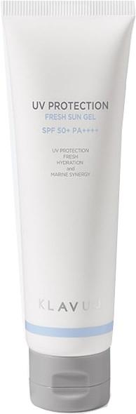 Солнцезащитный освежающий гель для лица с морской водой Klavuu UV Protection Fresh Sun Gel SPF 50+ PA++++ 50ml 2 - Фото 2