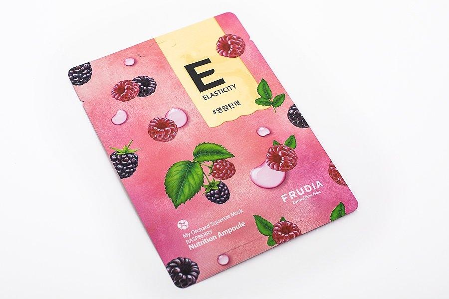 Маска тканевая омолаживающая для лица с экстрактом малины Frudia My Orchard Squeeze Mask Raspberry 20ml 1 - Фото 2