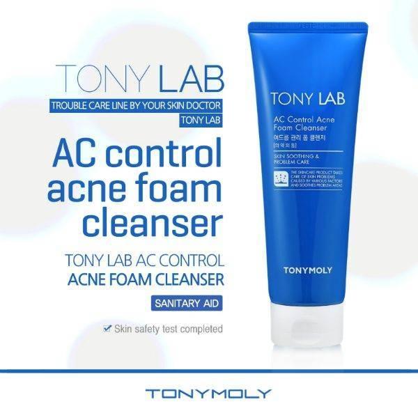 Пенка С Экстрактом Азиатской Центеллы Для Проблемной Кожи Tony Moly AC Control Acne Foam 0 - Фото 1