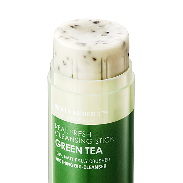 Освежающий твердый стик для очищения кожи Neogen Real Fresh Cleansing Stick Green Tea 80g 1 - Фото 2