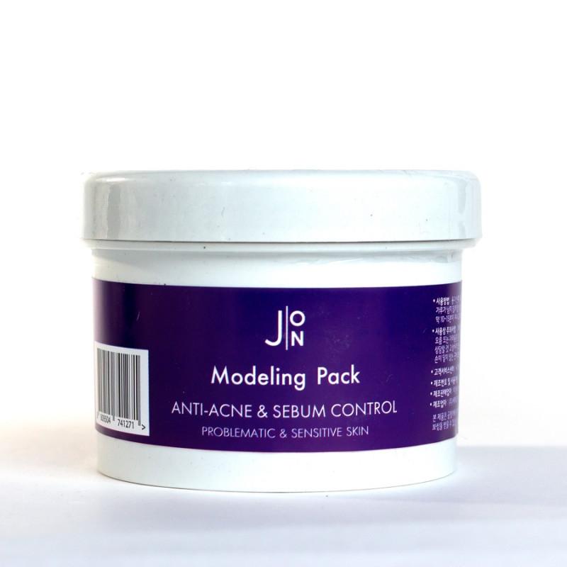 Маска альгинатная для лица против акне J:ON Modeling Pack Anti-Acne & Sebum Control, 18g 2 - Фото 2