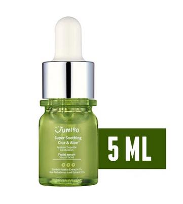 Сыворотка для лица успокаивающая Jumiso Super Soothing Cica & Aloe Facial Serum (мини)