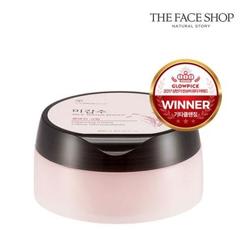 Крем очищающий для умывания и снятия макияжа The Face Shop Rice Water Bright Cleansing Cream 200ml 0