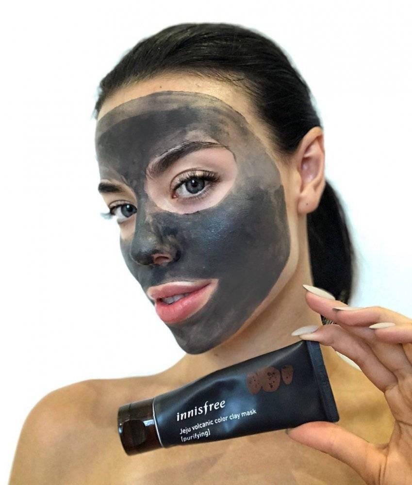 Маска Очищающая Поры С Вулканическим Пеплом Innisfree Jeju Volcanic Color Clay Mask - Purifying