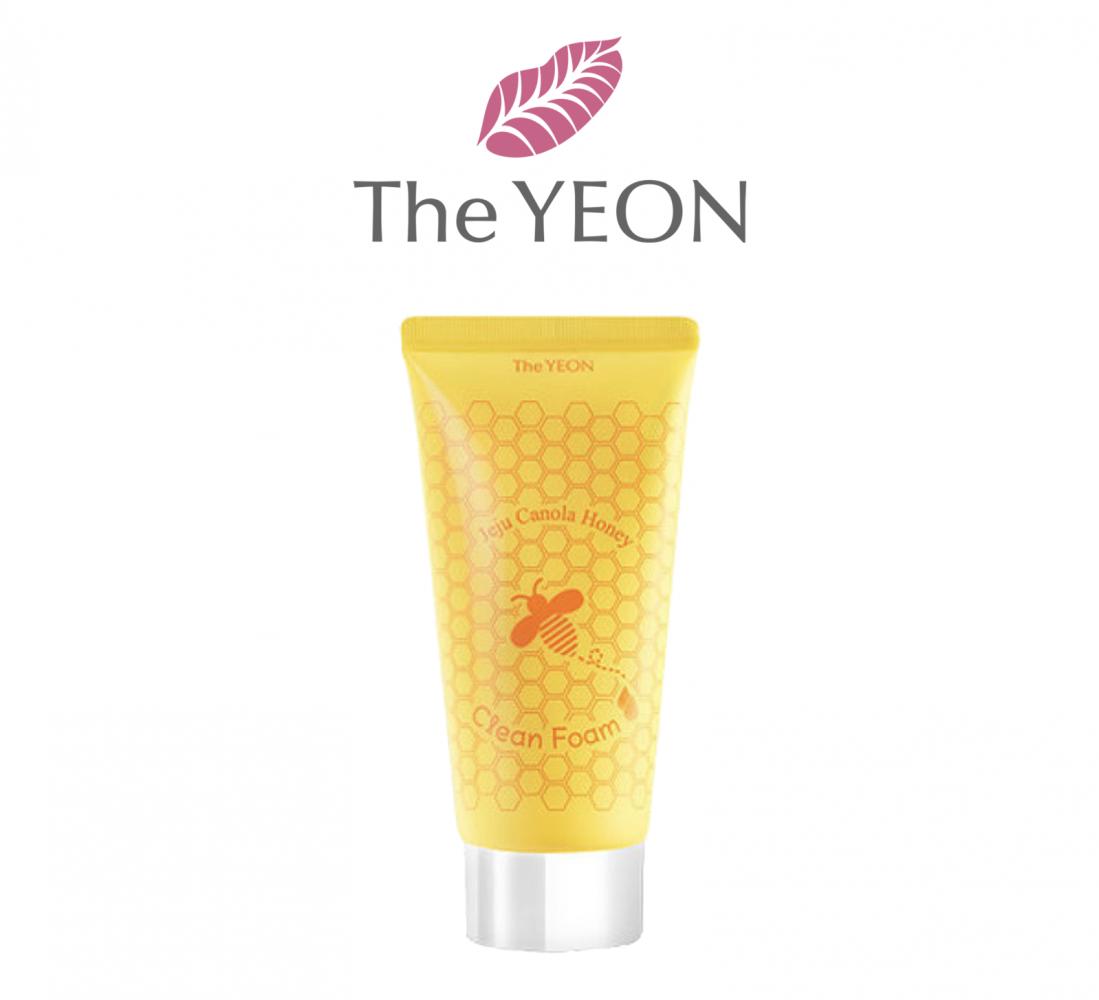 Пенка Очищающая Для Укрепления Кожи С Рапсовым Мёдом The YEON Jeju Canola Honey Clean Foam 150ml 0 - Фото 1