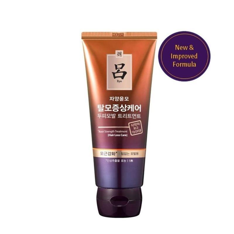 Маска укрепляющая против выпадения волос Ryo Root Strength Treatment