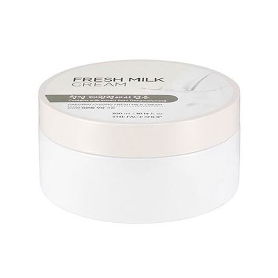 Крем Для Лица И Тела С Молочными Протеинами The Face Shop Daegwallyeong Fresh Milk Cream 0 - Фото 1