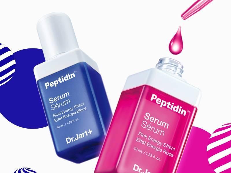 Набор Из 7-ми Средств С Пептидным Комплексом Восстанавливающий Dr.Jart+ Peptidin Serum Pink Energy POWER PACK  2 - Фото 2