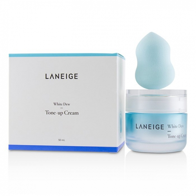 Крем для лица осветляюще-увлажняющий Laneige White Dew Tone Up Cream 50ml 0 - Фото 1