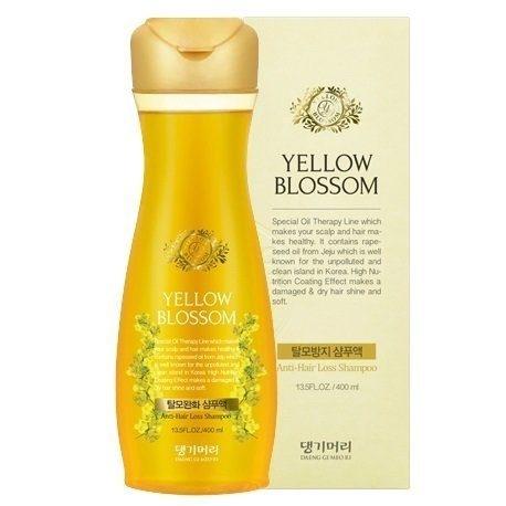 Укрепляющий бессульфатный шампунь против выпадения волос Daeng Gi Meo Ri Yellow Blossom Shampoo 400ml 0 - Фото 1