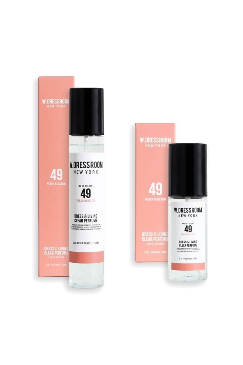 Парфюмированная Вода Для Одежды И Дома W.DRESSROOM Dress & Living Clear Perfume No.49 Peach Blossom