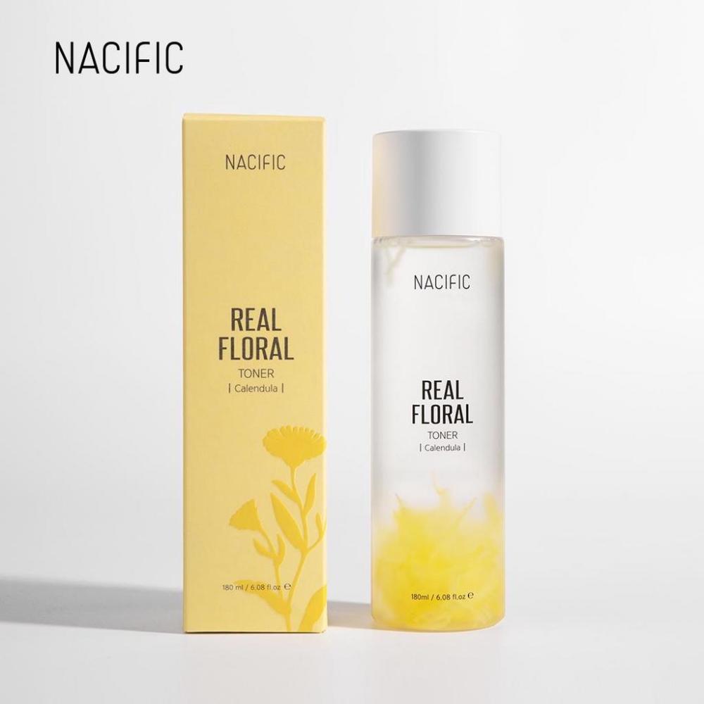 Увлажняющий тонер-антистресс для кожи лица с календулой Nacific Real Calendula Floral Toner 180ml 0 - Фото 1