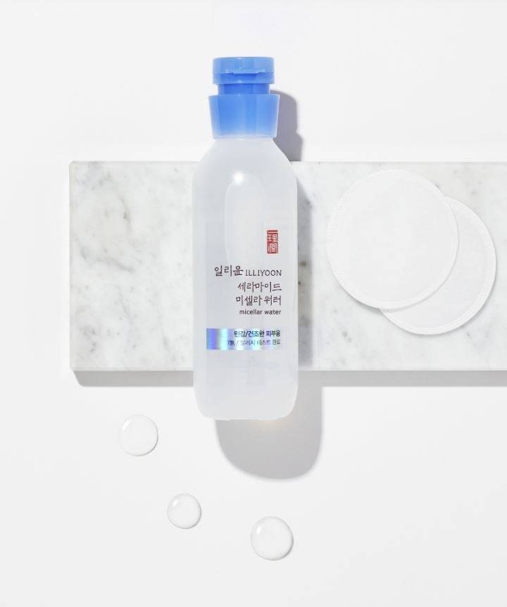 Мицеллярная вода для снятия макияжа с керамидами ILLIYOON Ceramide Micellar Water 200ml