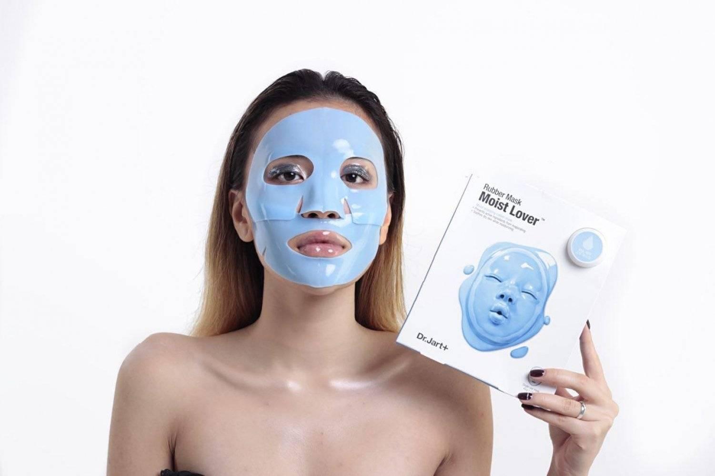 Моделирующая Альгинатная Маска Двухфазного Действия Dr. Jart+ Dermask Rubber Mask Moist Lover  0 - Фото 1