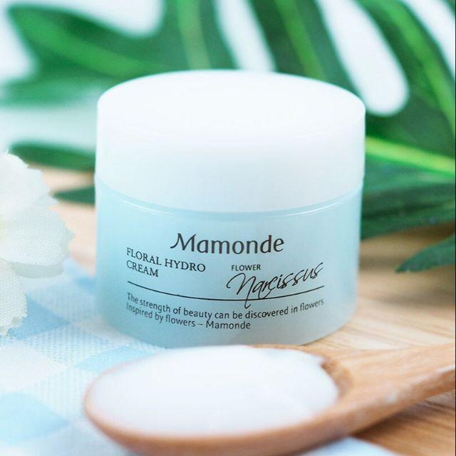 Крем увлажняющий с ботаническими стволовыми клетками для лица Mamonde Floral Hydro Cream 15ml 2 - Фото 2