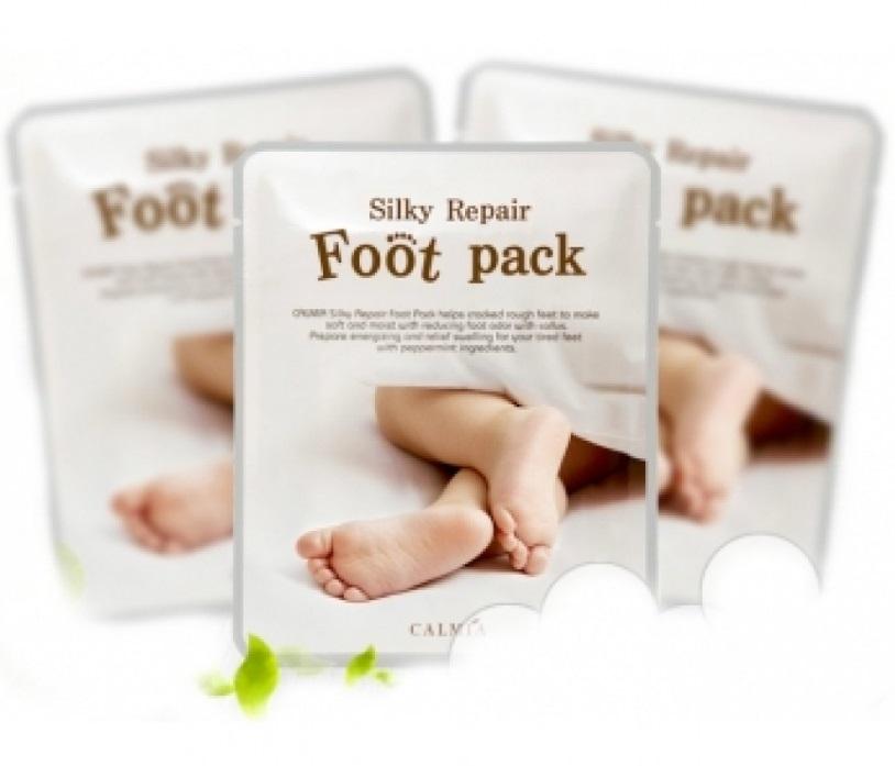 Маска для ног увлажняющая  с экстрактом авокадо Calmia Silky Essential Foot Pack 20ml  0 - Фото 1
