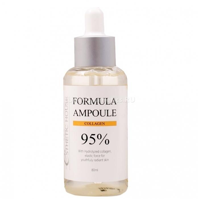 Сыворотка омолаживающая с коллагеном Esthetic House Formula Ampoule Collagen 80ml 0 - Фото 1