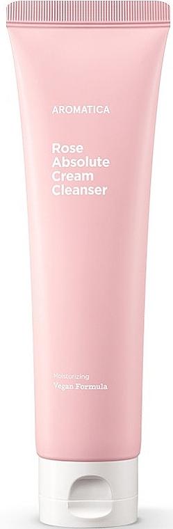 Очищающая крем-пенка с экстрактом дамасской розы Aromatica Rose Absolute Cream Cleanser 145g 0 - Фото 1