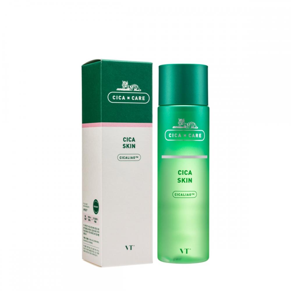 Тонер успокаивающий с экстрактом центеллы  VT Cosmetics  VT Cica Skin 200ml 0 - Фото 1