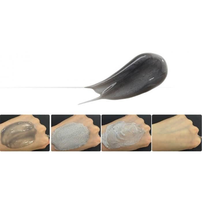Маска Кислородная Очищающая С Черным Жемчугом The Saem Gem Miracle Black Pearl O2 Bubble Mask 2 - Фото 3