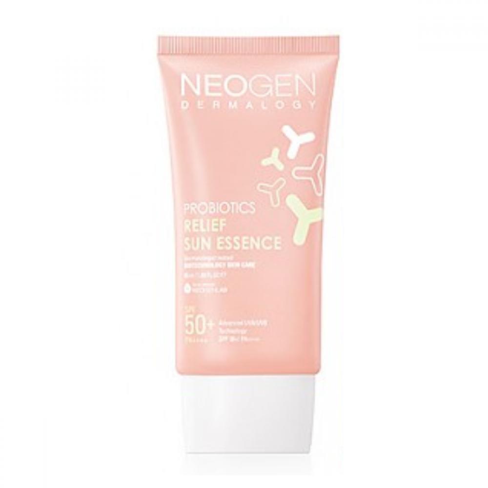 Солнцезащитная эссенция с пребиотиками Neogen Probiotics Relief Sun Essence 50ml 0 - Фото 1
