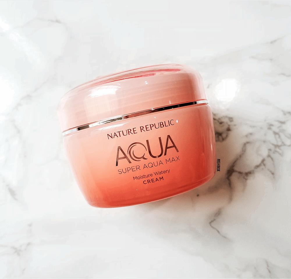 Крем Увлажняющий Для Сухой И Нормальной Кожи Nature Republic Super Aqua Moisture Watery Cream 80 ml 0