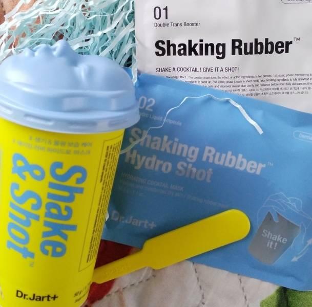 Маска Увлажняющая С Гиалуроновой Кислотой Dr.Jart+ Shake & Shot Rubber Hydro Mask 0