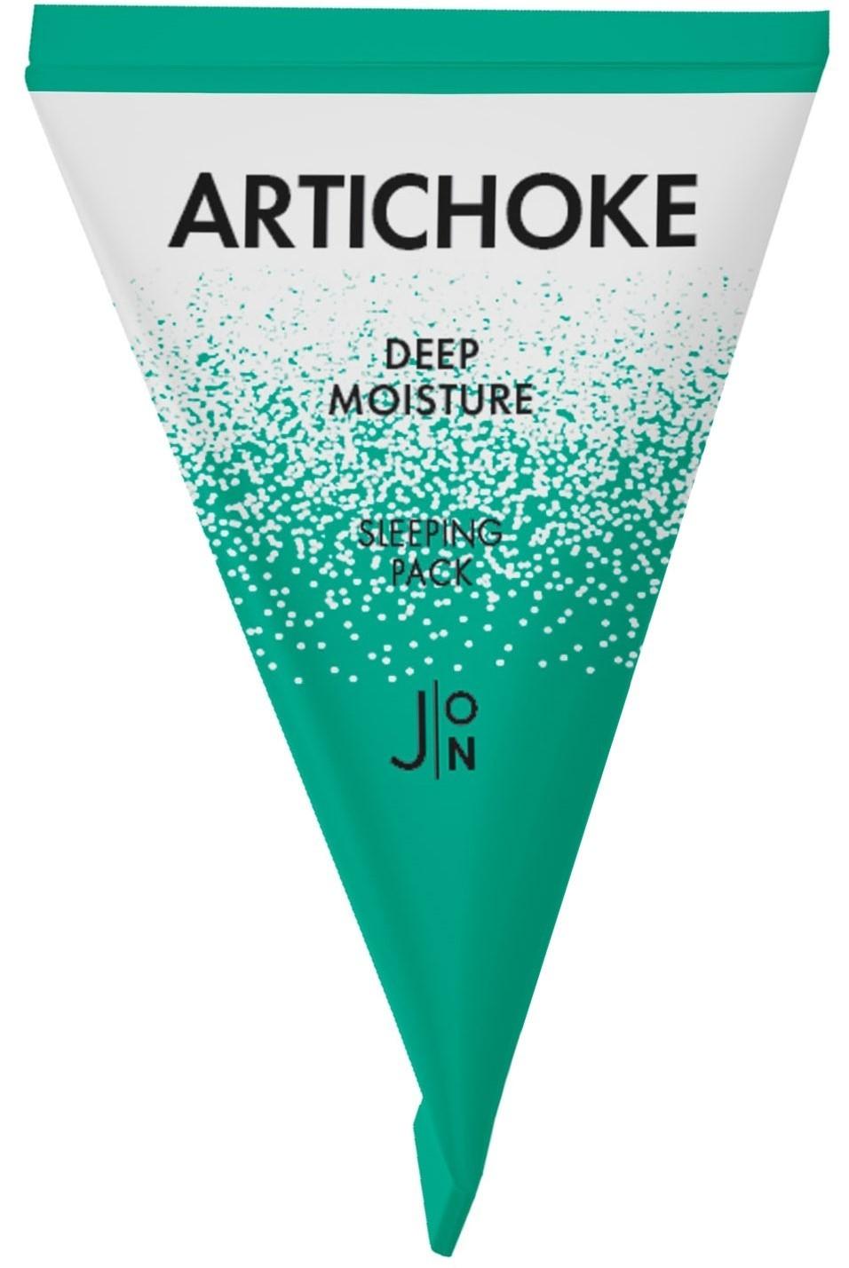 Маска ночная увлажняющая для лица с артишоком J:ON Artichoke Deep Moisture Sleeping Pack  2 - Фото 2