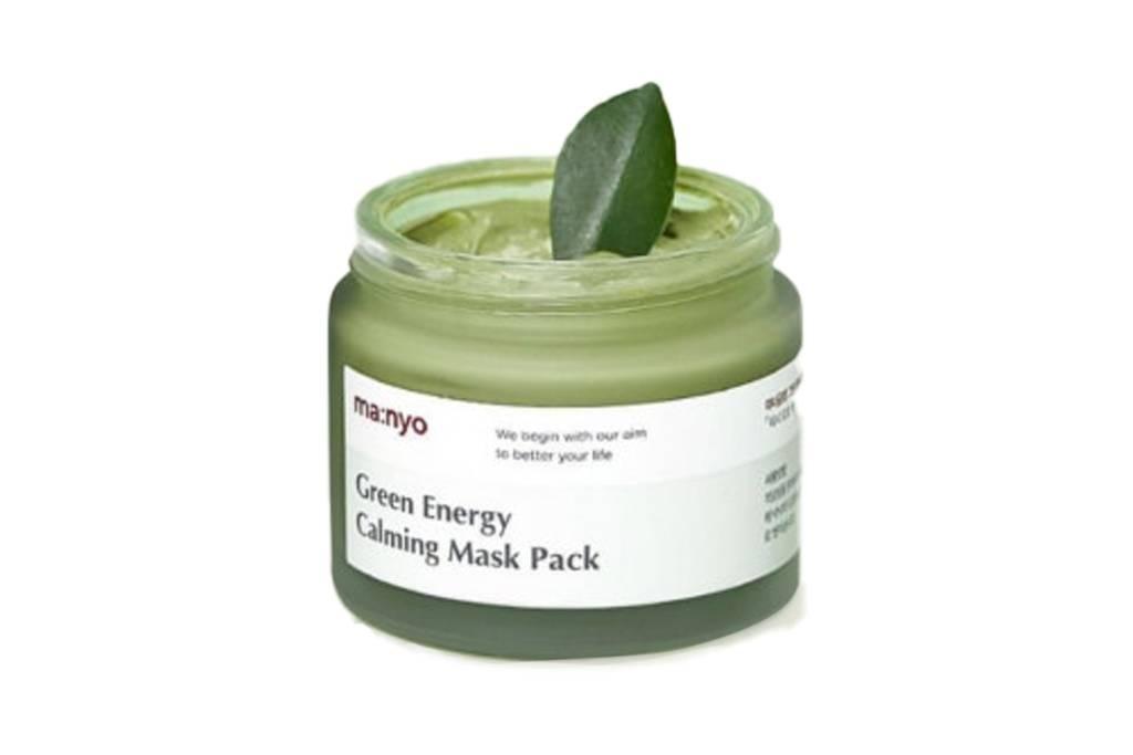Маска успокаивающая с экстрактом зеленого чая и полыни Manyo Factory Green Energy Calming Mask Pack 75ml 2 - Фото 3