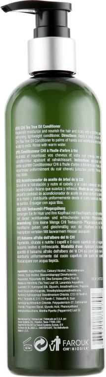 Кондиционер восстанавливающий с маслом чайного дерева для волос CHI Tea Tree Oil Conditioner  2 - Фото 2