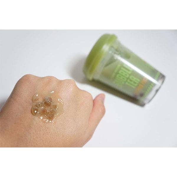 Ночная маска с экстрактом зеленого чая Etude House Bubble Tea Sleeping pack #Green Tea 100ml 4 - Фото 5