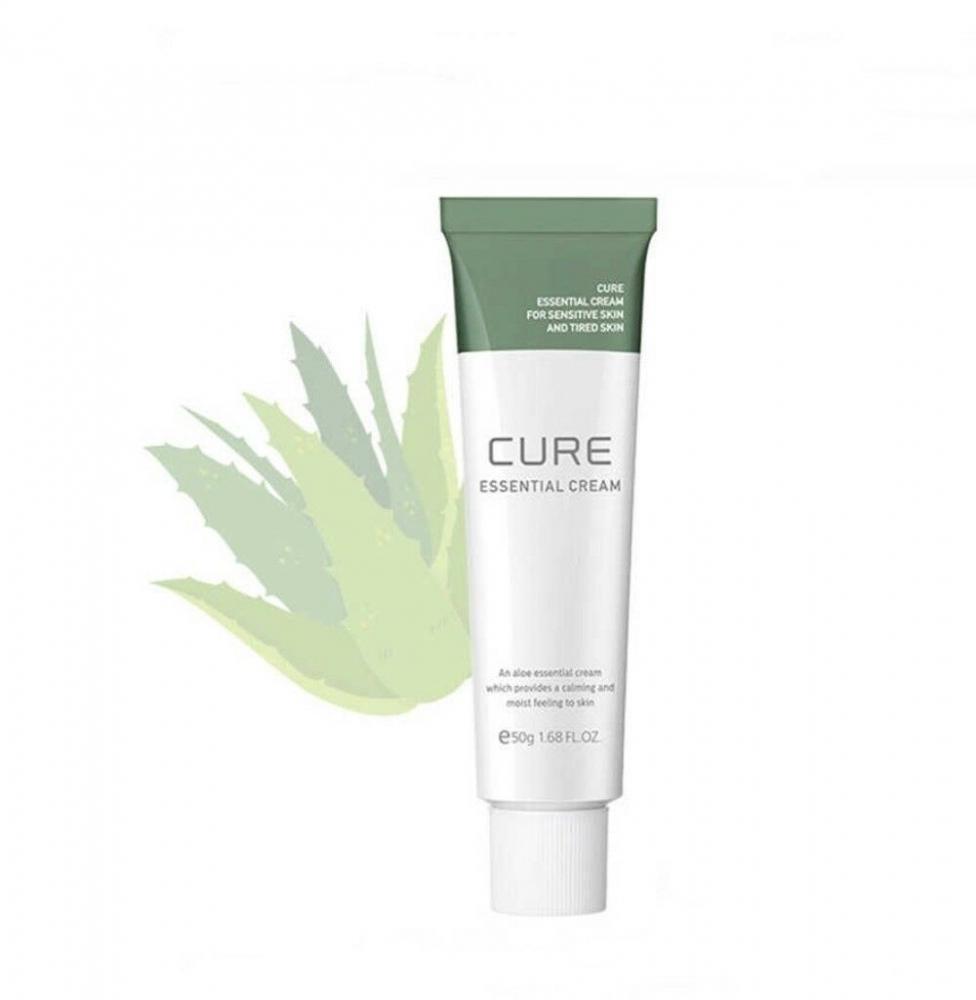 Крем успокаивающий с экстрактом алоэ Kim Jeong Moon Cure Essential Cream 50ml 1 - Фото 2