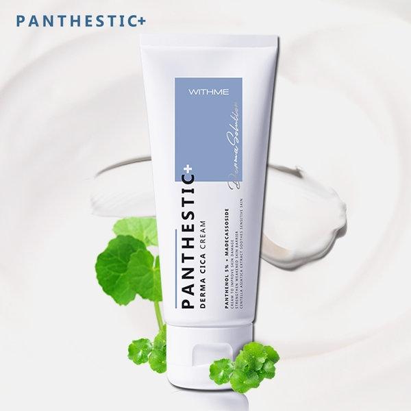 Крем успокаивающий с центеллой азиатской для лица Evas Panthestic Derma Cica Cream 100ml 1 - Фото 2