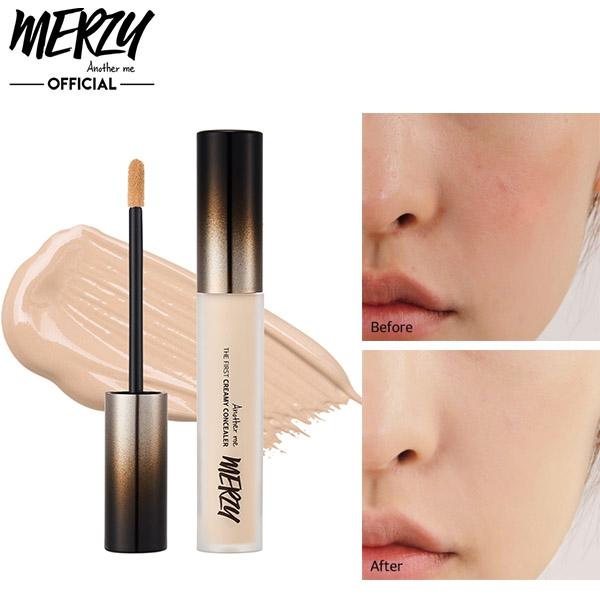 Консилер для маскировки недостатков с успокаивающим действием Merzy The First Creamy Concealer 5.6g 0 - Фото 1
