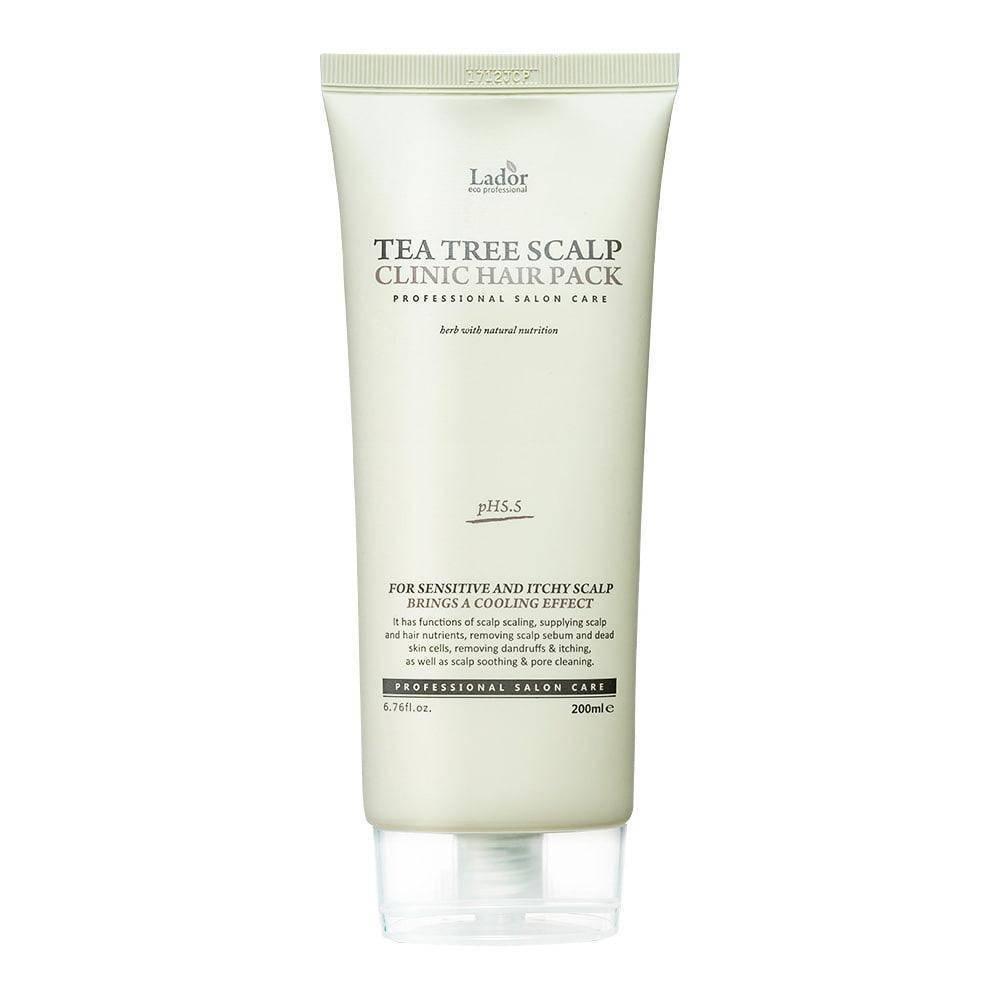 Маска Укрепляющая Оздоравливающая Для Кожи Головы И Волос La'dor Tea Tree Scalp Hair Pack С Экстрактом Зеленого Чая