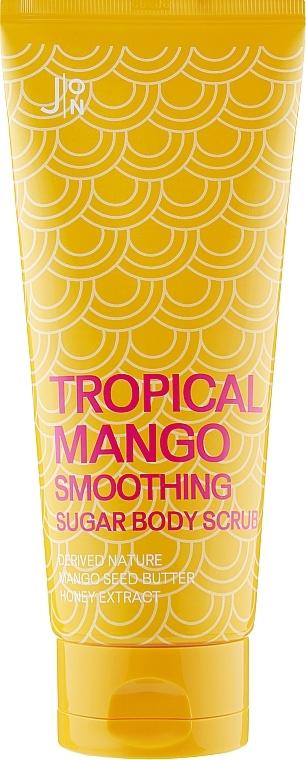 Скраб для тела «Манго» J:ON Tropical Mango Smoothing Sugar Body Scrub 250g 2 - Фото 2