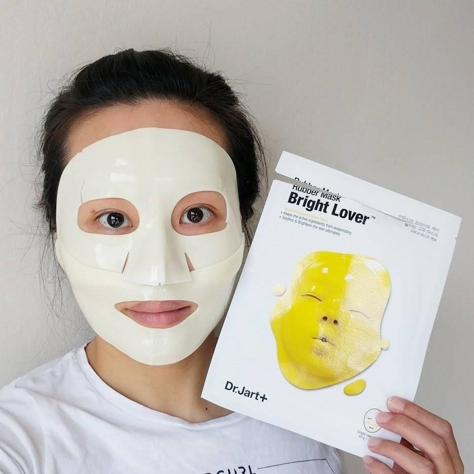 Восстанавливающая Альгинатная Маска С Экстрактом Ирландского Мха Dr. Jart Rubber Mask Bright Lover