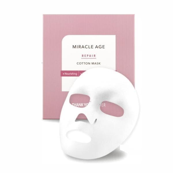 Маска тканевая восстанавливающая с экстрактом календулы Thank You Farmer Back To Iceland Miracle Age Repair Cotton Mask 25ml 0 - Фото 1