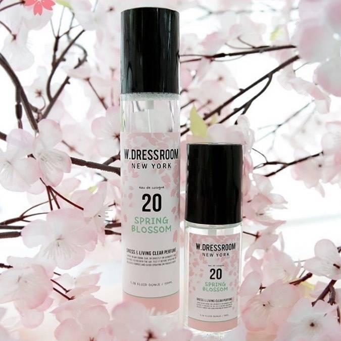 Парфюмированная Вода  Для Одежды И Дома С Ароматом Весенних Цветов W.DRESSROOM Dress & Living Clear Perfume №20 Spring Blossom Edition