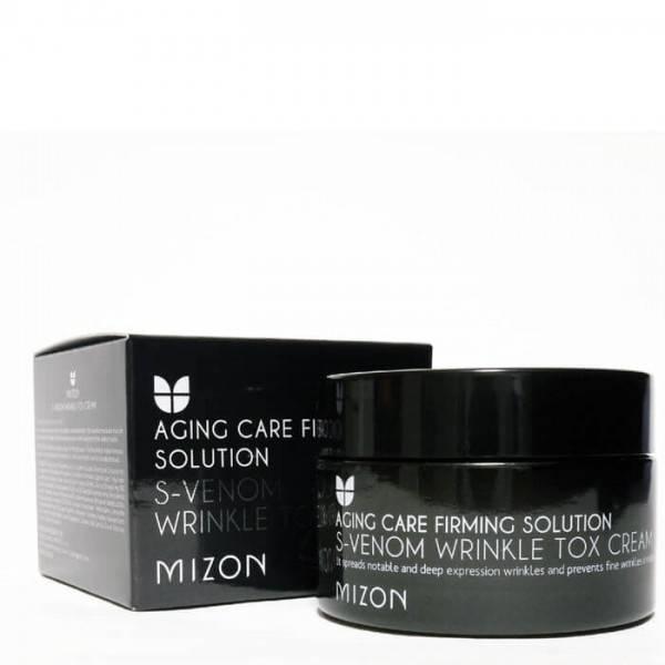 Крем Антивозрастно Со Змеиным Ядом Mizon S-Venom Wrinkle Tox Cream Восстанавливающий 2 - Фото 2