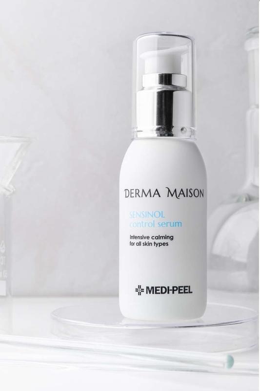 Успокаивающая сыворотка с азуленом и гиалуроновой кислотой Medi-Peel Derma Maison Sensinol Control Serum 50ml 2 - Фото 2
