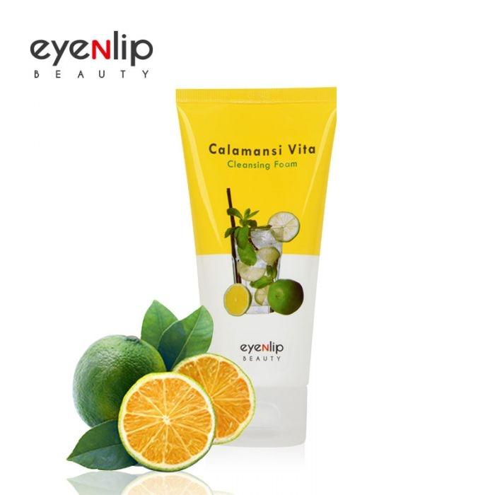 Пенка для умывания с экстрактом каламанси для лица Eyenlip CALAMANSI VITA CLEANSING FOAM 120ml 0 - Фото 1