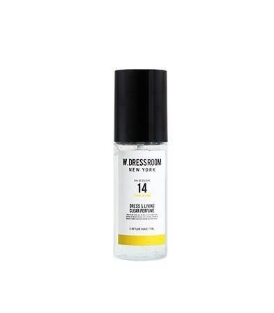 Парфюмированная вода для одежды и дома с ароматом лимона и лайма W.Dressroom Dress & Living Clear Perfume No.14 Lemon & Lime 70ml 0 - Фото 1