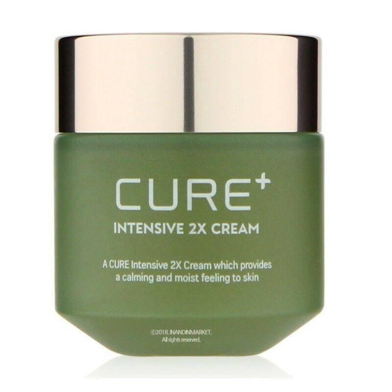 Крем успокаивающий с экстрактом алоэ Kim Jeong Moon Aloe Cure Plus Intensive 2X Cream 50g 0 - Фото 1